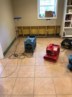 Post Pipe Break Mold Remediation/Drying/Containment in Rowayton, CT (2)